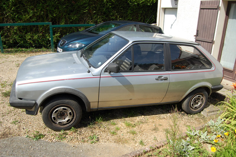 Polo coupé GT 1983', mon collector ! 18