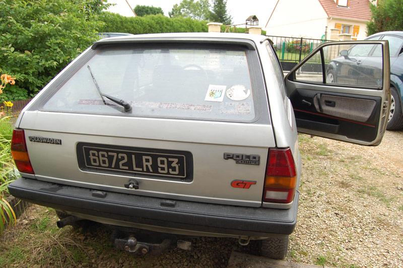 Polo coupé GT 1983', mon collector ! 2