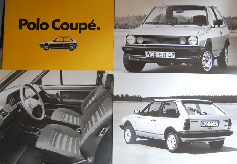 Polo coupé GT 1983', mon collector ! 41